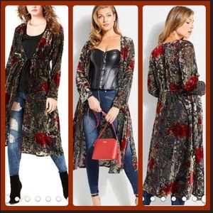 Other - Stunning Bundle, 2/Velvet Duster & 1/Maxi Jumpers